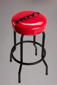 Hoyt Red/Black Bar Stool