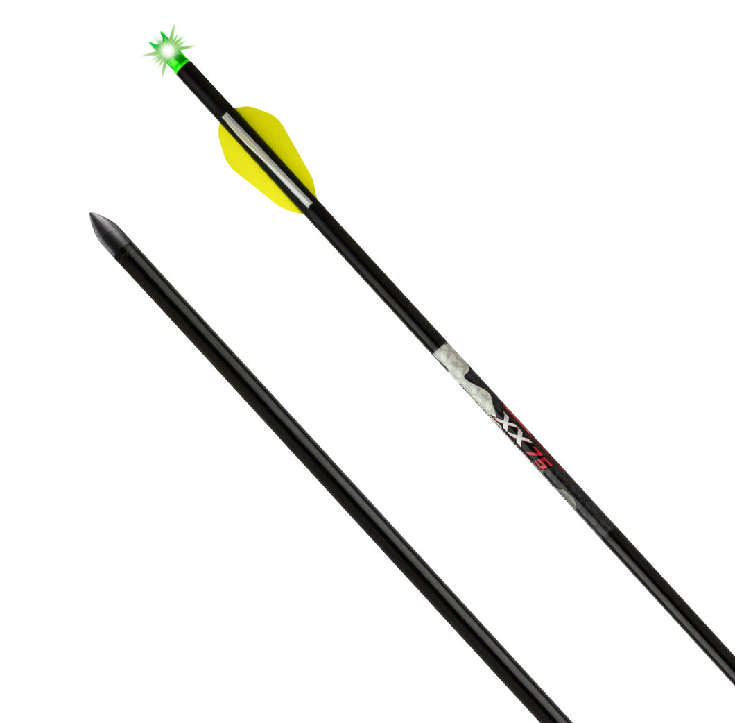 TenPoint Lighted XX75 Wicked Ridge Aluminum Arrow (3-pack)