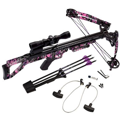 Carbon Express 20297 Covert Tyrant Huntress Crossbow Kit
