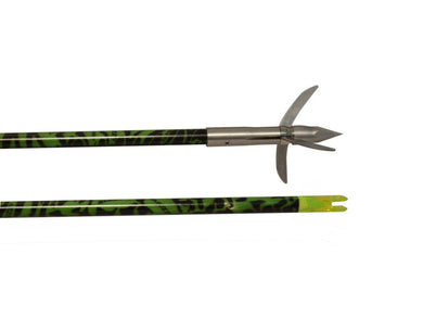 Muzzy 1035 NEW Alcatraz Fish Arrow w/Fish Bone Design