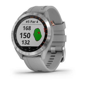 Garmin  Approach® S40 Stainless Steel with Powder Gray Band