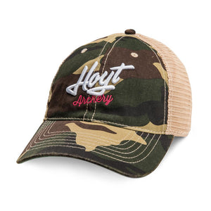 Hoyt Ladies' Camo Trucker Hat