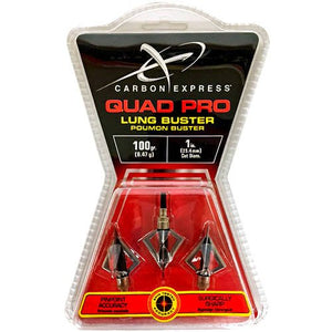 100gr Carbon Express Lung Buster Broadheads
