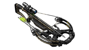 "Whitetail Hunter STR Trigger Tech, Quiver, 2-20"" Arrows, RCD & 4x32 Scope - MO Bottomland - NEW"