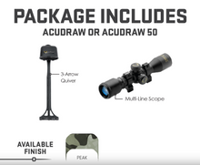 Load image into Gallery viewer, TenPoint Wicked Ridge Rampage 360 Crossbow Package with Acudraw Peak Camo