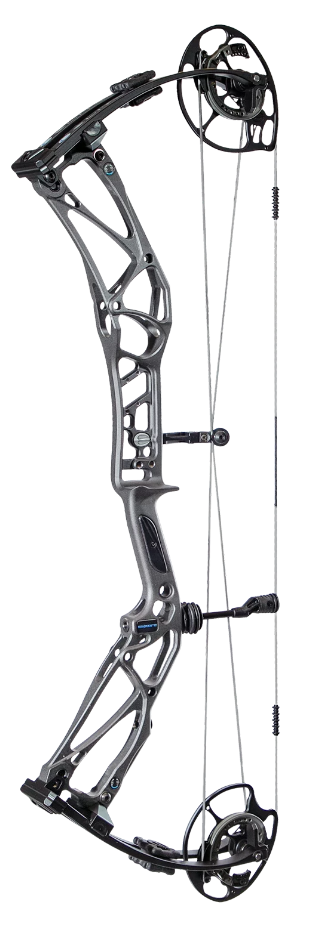 Elite Archery EnKore 70# RH Graphite Gray