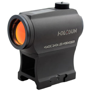 Holosun HS403C Micro Red Dot Sight 20mm Solar with Dot