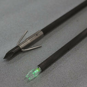 Muzzy Lighted Carbon Composite Fish Arrow with Carp Point