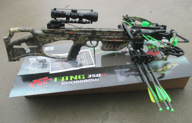 PSE Fang 350 XT Crossbow Package Mossy Oak Country