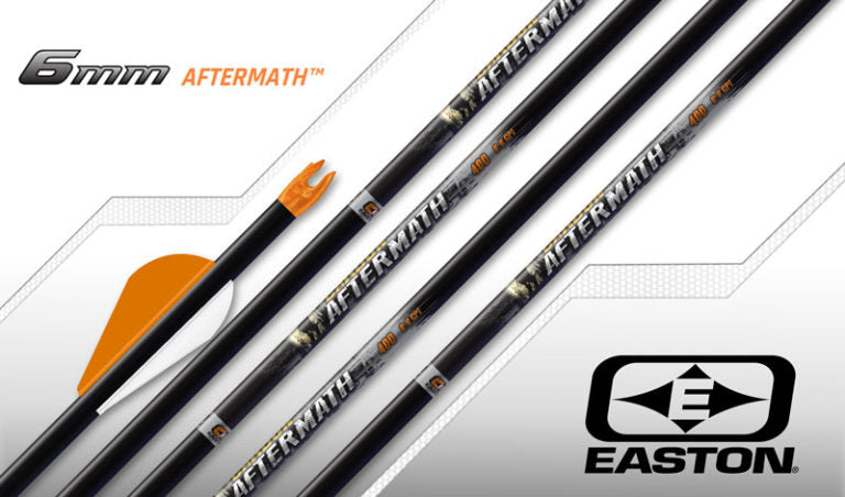 6 Easton Carbon Aftermath 300 6MM Bully Fletched Arrows