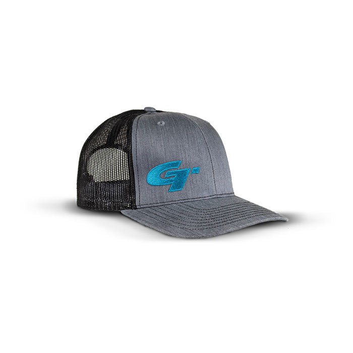 Gold Tip Grey/Blue Logo Hat