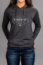 Load image into Gallery viewer, Hoyt Ladies On Point Hooded Long-Sleeved Shirt