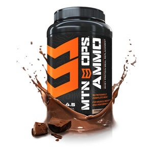 MTN OPS AMMO Chocolate Whey Protein Meal Replacement
