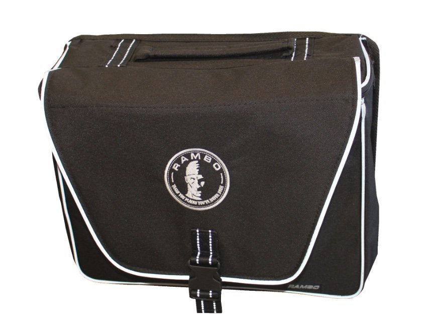 Rambo Bikes Single Saddle Accessory Bag Black