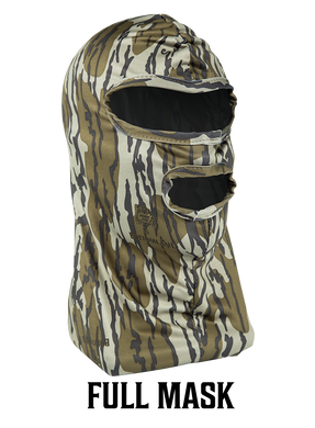 Primos Full Mask Stretch Fit Mossy Oak Bottomland