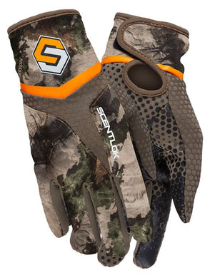 ScentLok Midweight Bow Releasae Glove MO Terra Gila Small