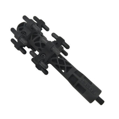 "Fuse Intrepid 6"" Black Stabilizer"