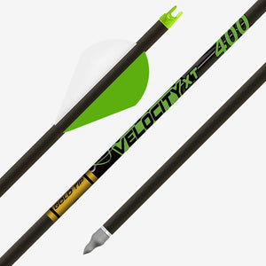 12 Velocity XT 400 Gold Tip Arrows