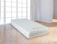 Load image into Gallery viewer, Single Luxury Latex Pillow Top Topper Spring Mattress