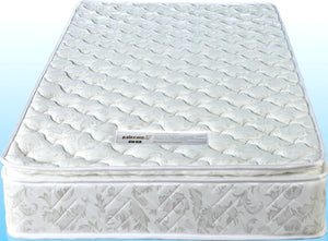 Single Luxury Latex Pillow Top Topper Spring Mattress