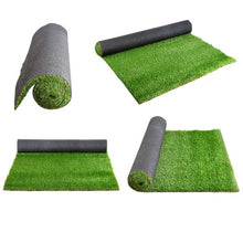 Load image into Gallery viewer, Primeturf Synthetic 30mm  0.95mx5m 4.75sqm Artificial Grass Fake Turf 4-coloured Plants Plastic Lawn