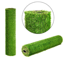 Load image into Gallery viewer, Primeturf Synthetic 40mm  0.95mx10m 9.5sqm Artificial Grass Fake Turf 4-coloured Plants Plastic Lawn