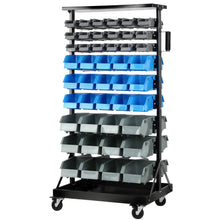 Load image into Gallery viewer, Giantz 90 Bin Storage Rack Stand
