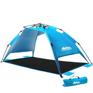 Pop Up Camping Tent Beach Portable Instant Up Hiking Sun Shade Shelter