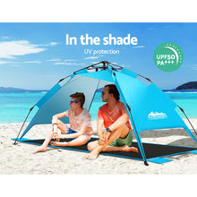 Load image into Gallery viewer, Pop Up Camping Tent Beach Portable Instant Up Hiking Sun Shade Shelter