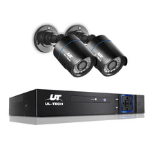 Load image into Gallery viewer, 1080P 4 Channel CCTV Security Camera