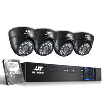 Load image into Gallery viewer, 1080P 4 Channel HDMI CCTV Security Camera with 1TB Hard Drive