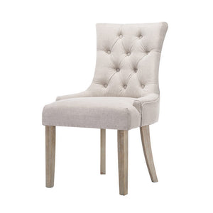 CAYES French Provincial Dining Chair Beige