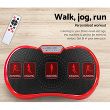 Load image into Gallery viewer, Vibration Machine Plate Platform Body Shaper Home Gym Fitness Red