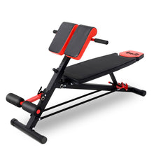 Load image into Gallery viewer, Adjustable Weight Bench Sit-up Fitness Flat Decline Home Gym Machine Steel Frame