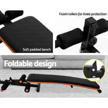 Load image into Gallery viewer, Sit Up Weight Bench 01 Press Fitness Weights Equipment Adjustable Home Gym