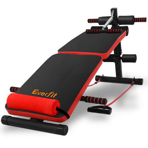 Adjustable Sit Up Bench Press Weight Gym Home Exercise Fitness Decline