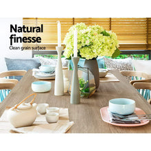 Load image into Gallery viewer, Dining Table 4 Seater Wooden Kitchen Set Oak 120cm Cafe Restaurant