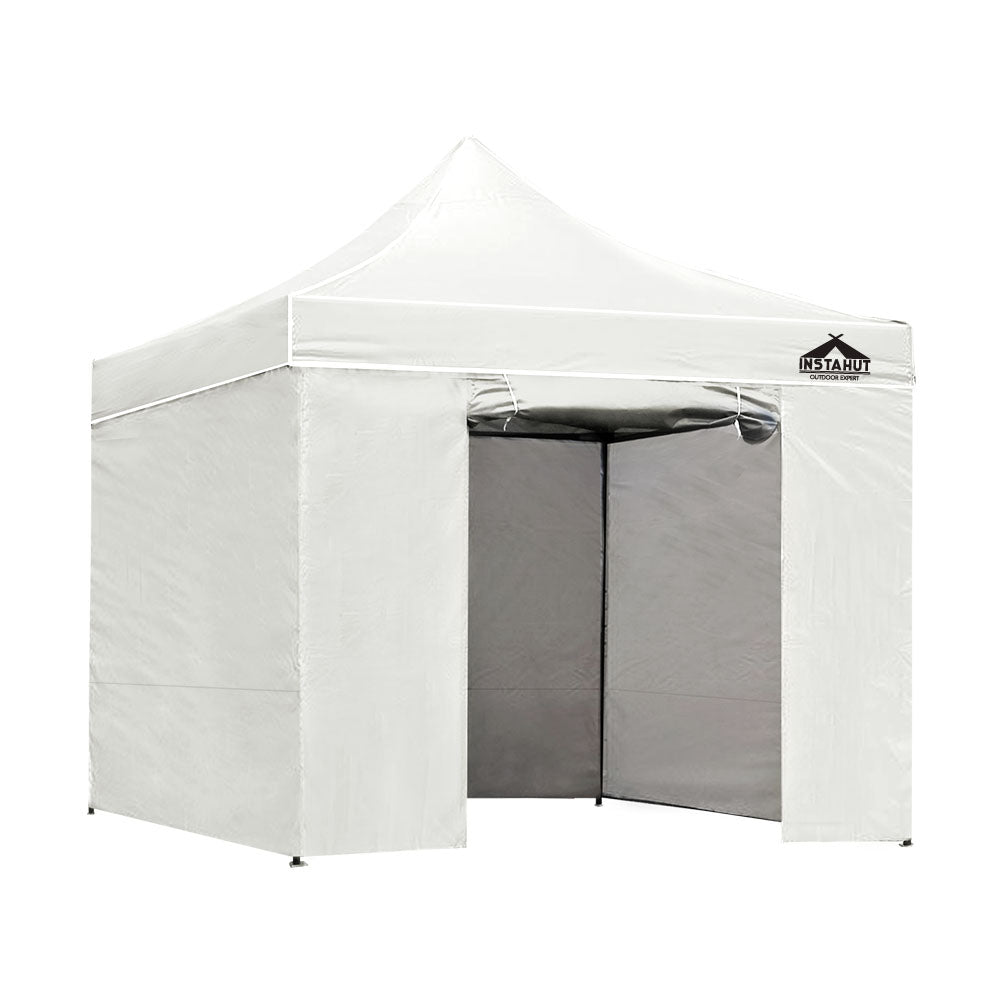Pop Up Marquee 3x3m Folding Wedding Tent s Shade White