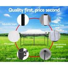 Load image into Gallery viewer, Pop Up Marquee 3x6m Outdoor Tent Folding Wedding s White