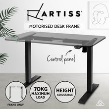 Load image into Gallery viewer, Motorised Adjustable Desk Frame Black