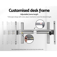 Load image into Gallery viewer, Standing Desk Motorised Height Adjustable Sit Stand Computer Table Office 100cm