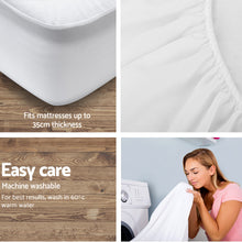 Load image into Gallery viewer, King Single Size Waterproof Bamboo Mattress Protector
