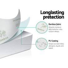 Load image into Gallery viewer, Bamboo Mattress Protector King