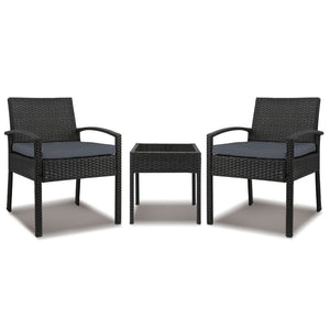 3-piece Outdoor Set - Black