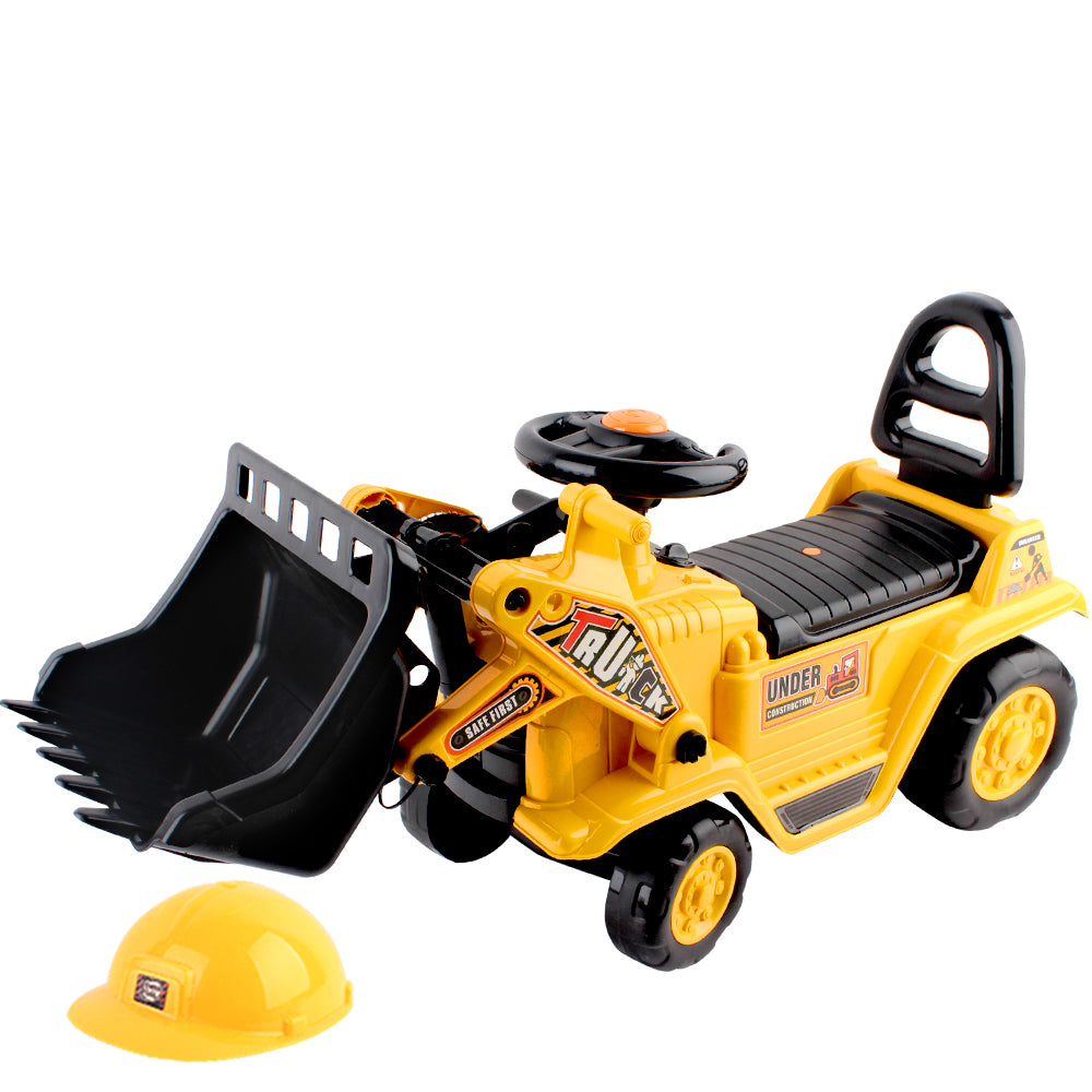 Kids Ride On Bulldozer - Yellow