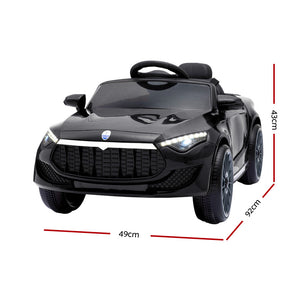Maserati Kids Ride On Car - Black