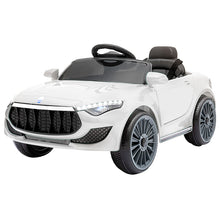Load image into Gallery viewer, Maserati Kids Ride On Car - White