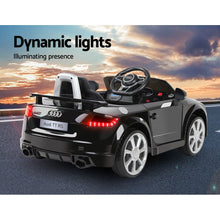 Load image into Gallery viewer, Kids Ride On Car Audi Licensed TT RS Black