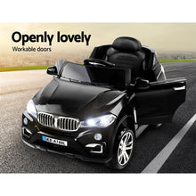 Load image into Gallery viewer, Kids Ride On Car BMW X5 Inspired Electric 12V Black