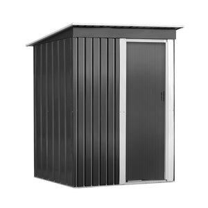 1.64x0.89M Garden Shed Outdoor Storage Sheds Tool Workshop Shelter Metal